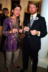 PRINCE & PRINCESS NICOLAS GUEDROITZ at a dinner in London on 26th October 1999.MYE 45