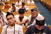 March 12th 2017 - The Megillat Esther reading during Purim at Sephardic Bikur Holim.
