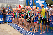 General Race Coverage, April 11, 2015 - TRIATHLON : ITU World Triathlon / Men Race, Southport, Gold Coast, Queensland, Australia. Credit: Lucas Wroe