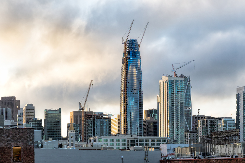 The Salesforce Tower will be the tallest building west of the Mississippi when it is completed in summer of 2017