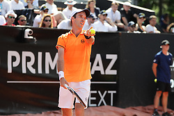 May 24, 2018 - Lyon, France - QUARTERFINAL MIKHAIL KUKUSHKIN  DURING THE MATCH FOR  ATP 250 IN LYON 24.05.2018 (Credit Image: © Panoramic via ZUMA Press)