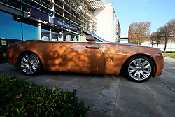 UK ENGLAND LONDON 2NOV17 - Rolls Royce model Dawn on display at the company HQ in Goodwood, Sussex, England.<br /> <br /> jre/Photo by Jiri Rezac<br /> <br /> &copy; Jiri Rezac 2017