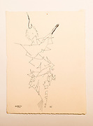 Hook (pen and ink on rag paper) by Mark Hiebert (7.5 x 9.75 inches, $295)