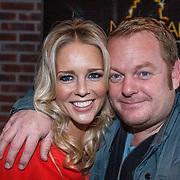 NLD/Amsterdam/20131104 - Lunch genomineerde Musical Awards Gala 2013, Chantal Janzen en Martijn Fischer