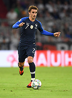 FUSSBALL UEFA Nations League in Muenchen Deutschland - Frankreich       06.09.2018 Antoine Griezmann (Frankreich) --- DFB regulations prohibit any use of photographs as image sequences and/or quasi-video. ---