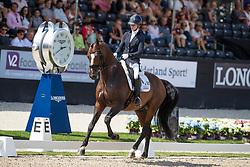 Fry Charlotte, GBR, Iondale<br /> World ChampionshipsYoung Dressage Horses<br /> Ermelo 2018<br /> © Hippo Foto - Dirk Caremans<br /> 02/08/2018
