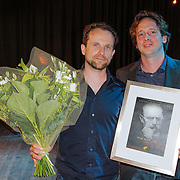 NLD/Hilversum/20120606 -Uitreiking Nipkowschrijf 2012, Van God los wint de Eervolle vermelding 2012