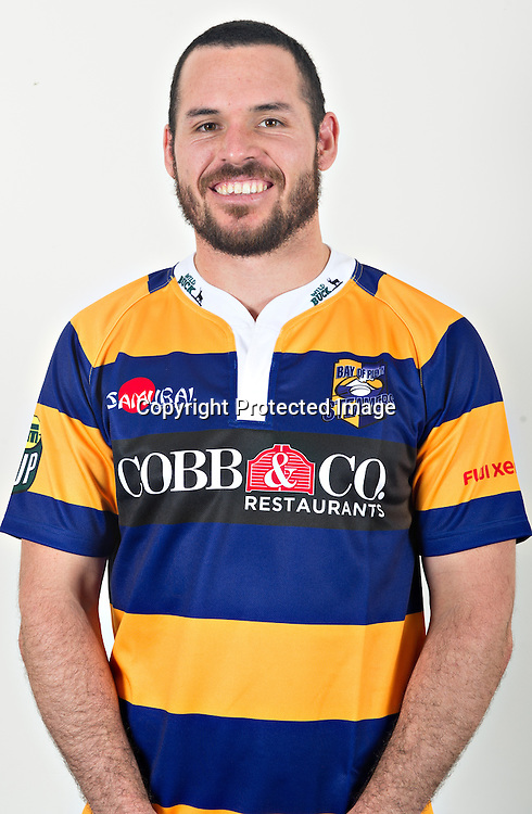 """Paul Morris - Headshots of the 2014 Bay of Plenty """"Steamers"""" ITM Cup rugby team. 2 July 2014. Photo: BOP Rugby."""