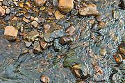 Rushing water in stream in Connemara, County Galway, Ireland