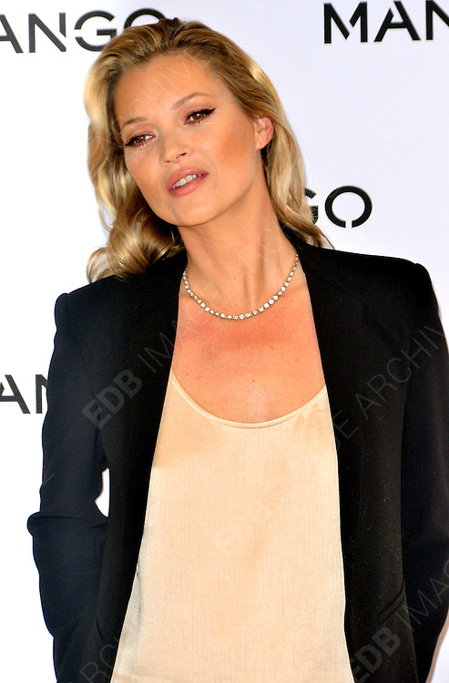 24.JANUARY.2012. LONDON<br /> <br /> MANGO ANNOUNCE KATE MOSS AS THE FACE OF THEIR SPRING/SUMMER 2012 COLLECTION<br /> <br /> BYLINE: EDBIMAGEARCHIVE.COM<br /> <br /> *THIS IMAGE IS STRICTLY FOR UK NEWSPAPERS AND MAGAZINES ONLY*<br /> *FOR WORLD WIDE SALES AND WEB USE PLEASE CONTACT EDBIMAGEARCHIVE - 0208 954 5968*