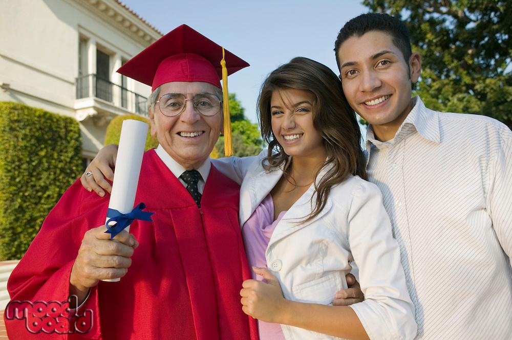 Graduate with Children