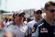 July 21-24, 2016 - Hungarian GP, Esteban Gutierrez (MEX), Haas F1, Jenson Button (GBR), McLaren Honda