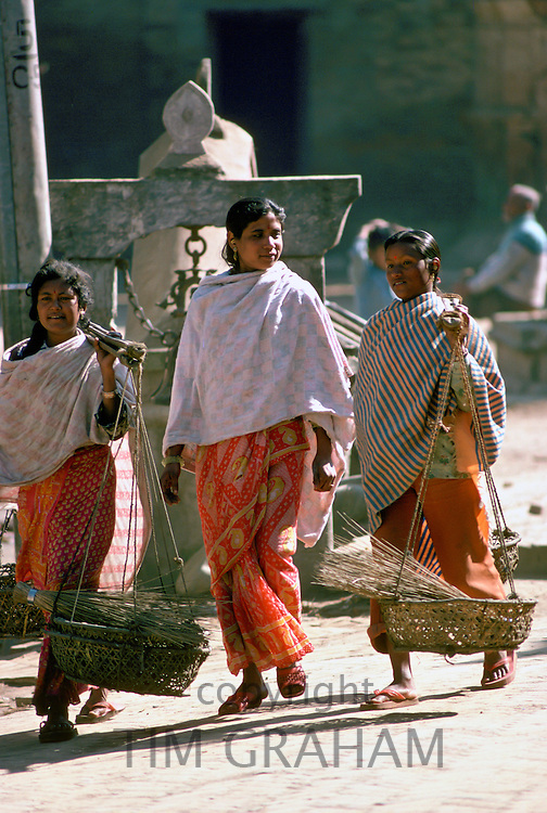 Women in Patan, Nepal.