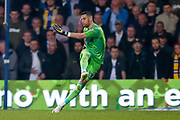 Leeds United goalkeeper Kiko Casilla (33) in action  during the EFL Sky Bet Championship match between Queens Park Rangers and Leeds United at the Loftus Road Stadium, London, England on 26 February 2019.