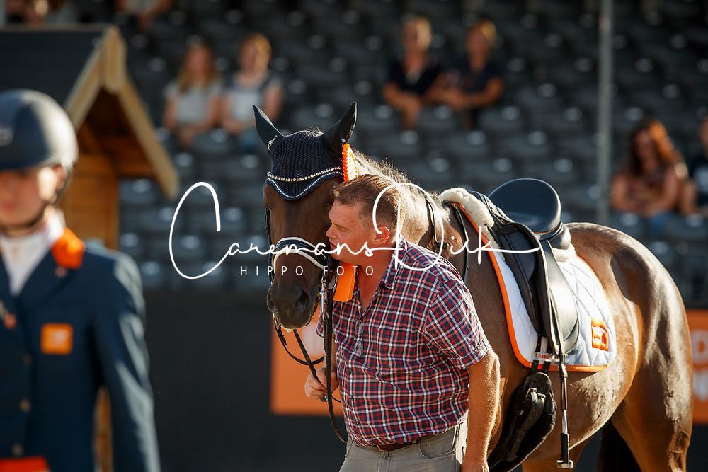 Rockx Johan, NED, Gerda Nova de la Fazenda<br /> Nederlands Kampioenschap Dressuur <br /> Ermelo 2018<br /> © Hippo Foto - Dirk Caremans<br /> 28/07/2018