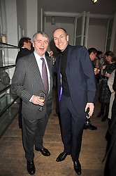 Left to right, STEPHEN QUINN and DYLAN JONES at a dinner hosted by Nicole Farhi at 16 Fouberts Place, London W1 on 9th February 2009.