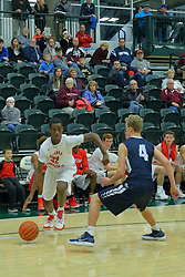 27 December 2017: State Farm Holiday Classic Coed Basketball Tournament at Shirk Center, Bloomington Illinois<br /> <br /> SFHC - Small Boys Aurora Christian Eagles v Prairie Central Hawks