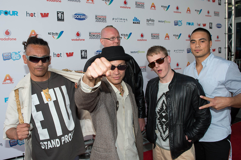 Vodafone NZ Music Awards 2012. Red Carpet Arrivals. 1 November 2012
