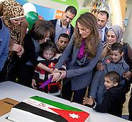 Queen Rania Celebrates King Abdullah's Birthday