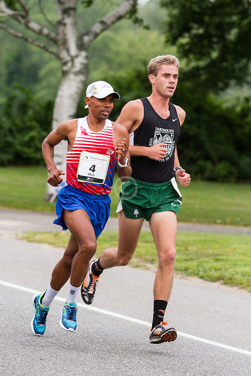 Beach to Beacon 10K: Meb Keflezighi, Will Geoghegan
