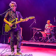 Dean Wareham and Lee Wall of Luna perform at the 9:30 Club on their reunion tour.