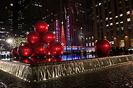 Christmas cheer at Rockefeller Center in New York City.