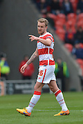 James Coppinger (26) of Doncaster Rovers  during the Sky Bet League 1 match between Doncaster Rovers and Peterborough United at the Keepmoat Stadium, Doncaster, England on 19 March 2016. Photo by Ian Lyall.
