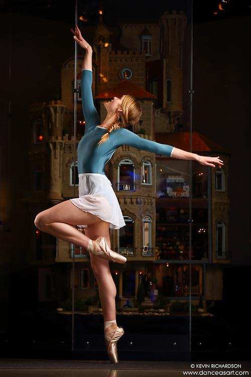 Dance As Art New York City Photography Project Astolat Castle Series with dancer, Hannah Feltham