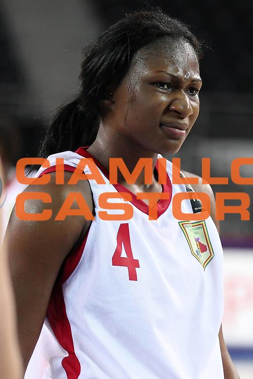 DESCRIZIONE : Ankara Turkey FIBA Olympic Qualifying Tournament for Women 2012 Mali Canada<br /> GIOCATORE : Djenebou DAMBA<br /> SQUADRA : Mali Canada<br /> EVENTO :  FIBA Olympic Qualifying Tournament for Women 2012<br /> GARA : Mali Canada<br /> DATA : 25/06/2012<br /> CATEGORIA : <br /> SPORT : Pallacanestro <br /> AUTORE : Agenzia Ciamillo-Castoria/ElioCastoria<br /> Galleria : FIBA Olympic Qualifying Tournament for Women 2012<br /> Fotonotizia : Ankara Turkey FIBA Olympic Qualifying Tournament for Women 2012 Mali Canada<br /> Predefinita :