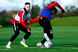 Antoine Semenyo is challenged by Josh Brownhill of Bristol City - Rogan/JMP - 03/12/2019 - Failand - Bristol, England - Sky Bet Championship.