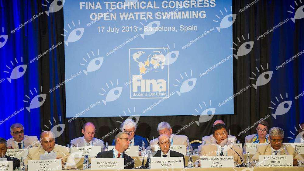 FINA Open Water Technical Congress<br /> Hotel Fira Palace, Barcelona (Spain) 17/07/2013 <br /> FINA World Championships Barcelona 2013<br /> &copy; Giorgio Perottino / Deepbluemedia