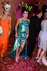 Right, NANCY DELL'OLIO at The Animal Ball in aid of The Elephant Family held at Lancaster House, London on 9th July 2013.