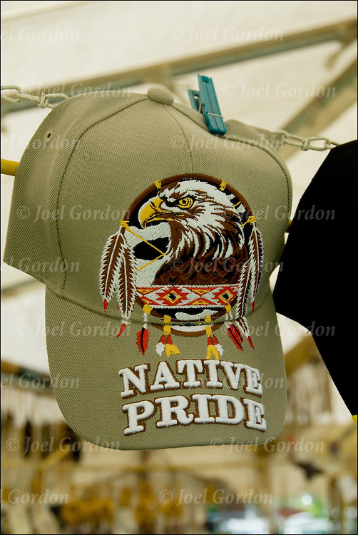 Ethnic Pride hat for sale at pow wow