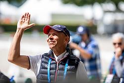 PETERS Steffen (USA)<br /> Aachen - CHIO 2019<br /> Impressionen am Rande<br /> Deutsche Bank Preis<br /> Großer Dressurpreis von Aachen<br /> Grand Prix Kür CDIO5* <br /> 21. Juli 2019<br /> © www.sportfotos-lafrentz.de/Stefan Lafrentz