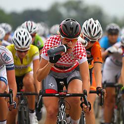 Boels Rental Ladiestour 2013 Zaltbommel-Veen attack Romy Kasper