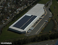Aerial view of 1515 Burnt Mill Road, Cherry Hill, New Jersey Aerial view of Solar Panels located in cherry hill, new jersey.