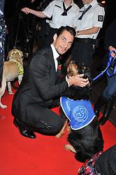 DAVID GANDY at the Battersea Dogs & Cats Home Collars & Coats Gala Ball held at Battersea Evolution, Battersea Park, London SW8 on 8th November 2012.
