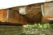 Warnke Covered Bridge, Built 1895<br /> Underneath View