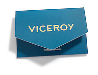 Viceroy key envelope on white background