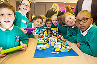 REPRO FREE:     Merlin Woods NS at the Junior FIRST Lego League run by Galway Education Centre, in Galmont Hotel &amp; Spa.<br />  Photo: Andrew Downes, XPOSURE