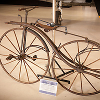 1865 Custom Wooden Bicycle, Planes and Cars at the Santa Fe Airport, 2013 Santa Fe Concorso.