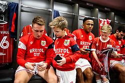 Cauley Woodrow of Bristol City looks on during the Mascot dressing room visit - Rogan/JMP - 27/01/2018 - Ashton Gate Stadium - Bristol, England - Bristol City v Queens Park Rangers - Sky Bet Championship.