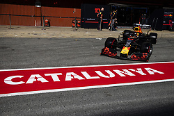 February 28, 2019 - Barcelona, Catalonia, Spain - Pierre Gasly from France with 10 Aston Martin Red Bull Racing - Honda RB15 in action   during the Formula 1 2019 Pre-Season Tests at Circuit de Barcelona - Catalunya in Montmelo, Spain on February 28. (Credit Image: © Xavier Bonilla/NurPhoto via ZUMA Press)