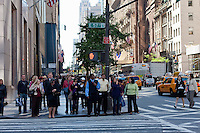 5th Avenue scene in New York in October 2008
