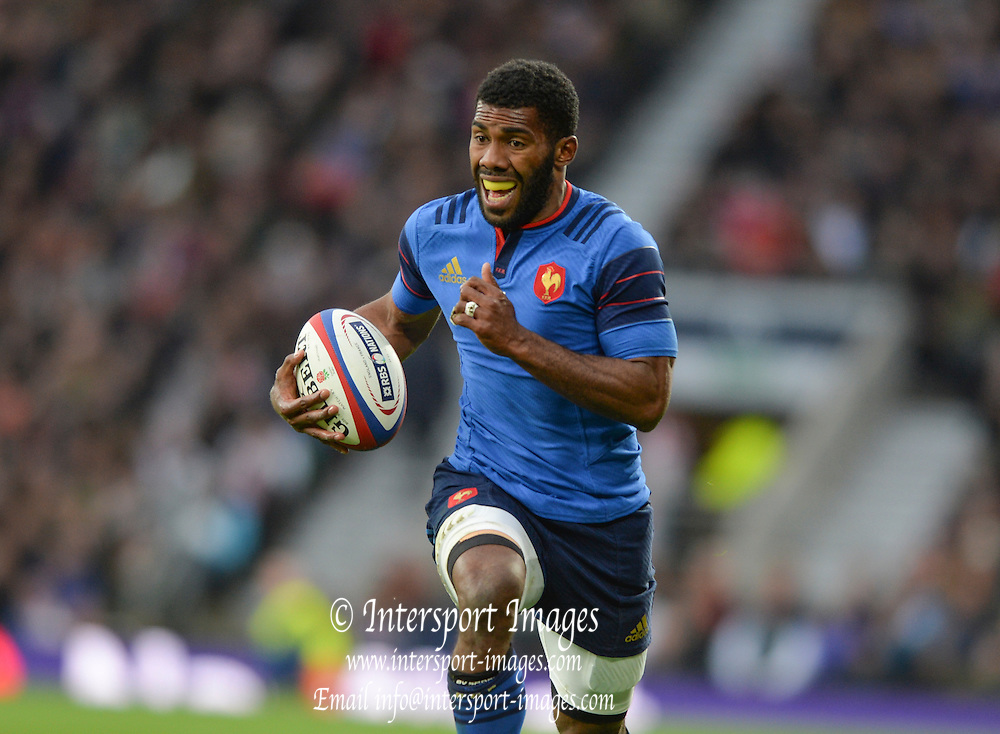 Twickenham, Great Britain, Noa NAKAITACI during the  Six Nations Rugby England vs France, played at the RFU Stadium, Twickenham, ENGLAND. <br /> <br /> Saturday   21/03/2015<br /> <br /> [Mandatory Credit; Peter Spurrier/Intersport-images]