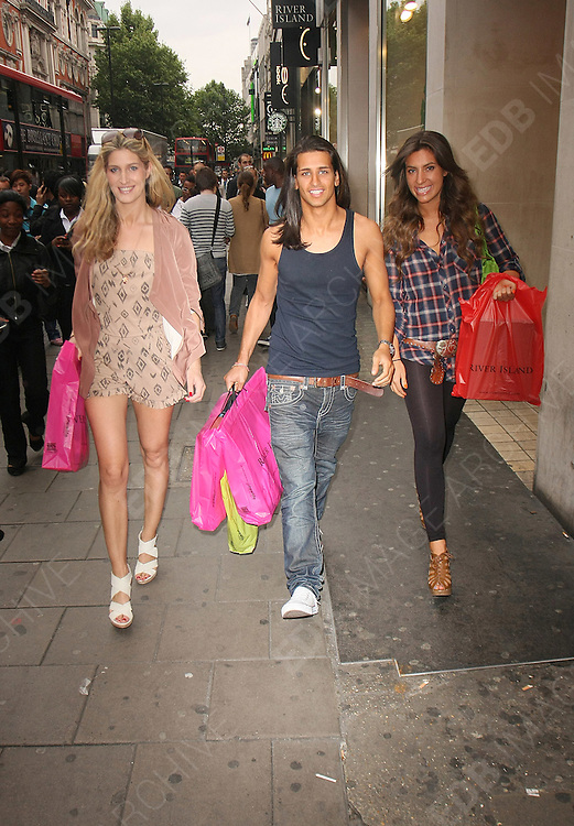 19.MAY.2011. LONDON<br /> <br /> MADE IN CHELSEA STARS GABRIELLE ELLIS, OLLIE LOCKE AND CHESKA HULL SHOPPING IN LONDONS OXFORD STREET.<br /> <br /> BYLINE: EDBIMAGEARCHIVE.COM<br /> <br /> *THIS IMAGE IS STRICTLY FOR UK NEWSPAPERS AND MAGAZINES ONLY*<br /> *FOR WORLD WIDE SALES AND WEB USE PLEASE CONTACT EDBIMAGEARCHIVE - 0208 954 5968*