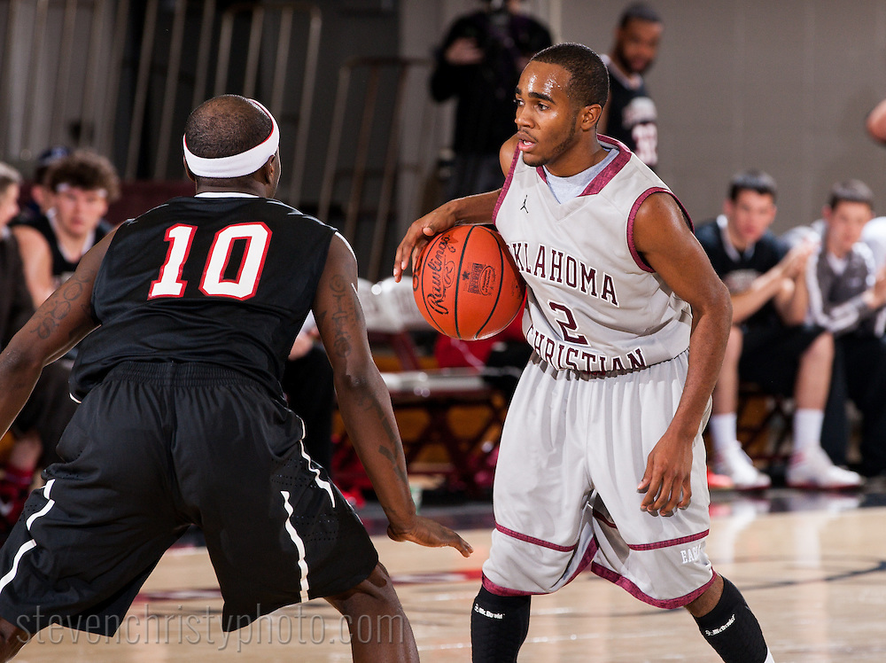 December 5, 2011: The Northwestern Oklahoma State University Rangers play against the Oklahoma Christian University Eagles at the Eagles Nest on the campus of Oklahoma Christian University.