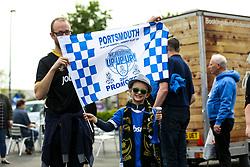 Portsmouth fans arrive at Fratton park - Mandatory by-line: Jason Brown/JMP - 06/05/2017 - FOOTBALL - Fratton Park - Portsmouth, England - Portsmouth v Cheltenham Town - Sky Bet League Two