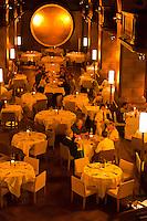 Interior of the historic Kornhauskeller restaurant, Bern, Canton Bern, Switzerland