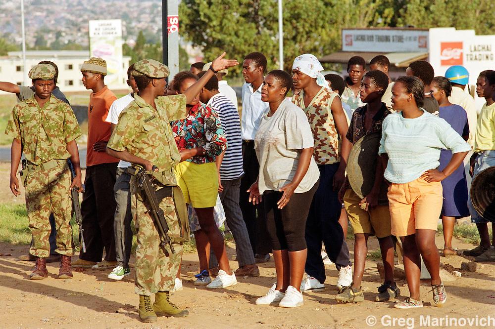 Shootings, Meadowlands, Soweto 26 April 1992
